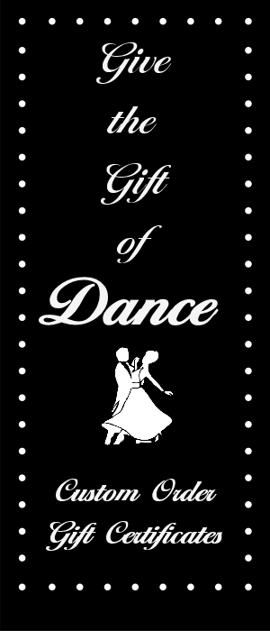 Ballroom Dance Experiences provides Gift Certificates for Group Ballroom Dance Classes